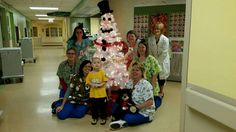 HINES AND NURSES AT WVU CHILDRENS HOSPITAL