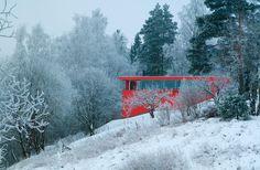 The red house /  Jarmund/Vigsnæs