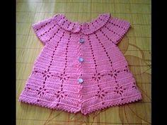 Patrón Para Tejer Blusa Amarilla a Crochet - YouTube