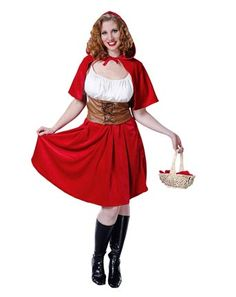 Red Riding Hood Adult Plus Costume