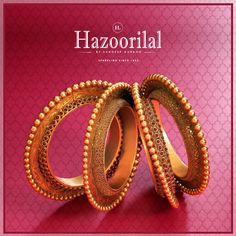 Hazoorilal by Sandeep Narang for diamond & gold Jewellery is one of the top Jewellery stores in India.Hazoorilal Jewellers is kown for its class & quality Gold Bangles Design, Gold Jewellery Design, Hazoorilal Jewellers, Gold Jewelry Simple, Jewelry Stores Near Me, Gold Bangle Bracelet, Bridal Jewelry, Ethnic, Bengal