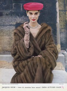 Jacques Heim 1956 Fur Coat