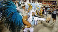 Patrícia Nery - Rainha de bateria Gres Portela - Carnaval 2016.