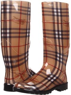 Stylish Long Burberry Boots
