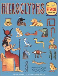 Hieroglyphs with Stencil