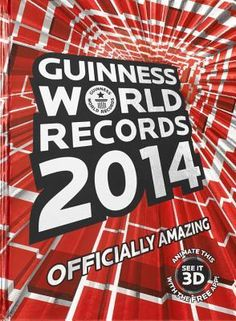Guinness World Records 2014. Awesome and then some! The planet's biggest-selling copyright book is back, and trust us: it's Officially Amazing! Celebrate 20 years of The Simpsons, the longest-running animated sit-com; Find out which dinosaurs were the largest creatures to walk the Earth; Pump iron with the most macho men and the greatest wonder women.