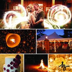 Energía y pasión del fuego como elemento principal de inspiración para tu Boda.  www.szeventos.com  soizic@szeventos.com