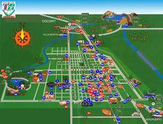 Mapa de Obregon