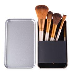 12 Pcs Bamboo Handle Makeup Brushes Kabuki Powder Foundation blusher Cosmetic Brushes With Box