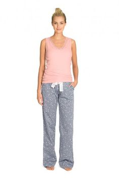 Chambray Star Pyjama Pant