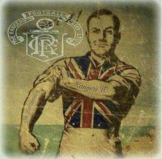 Old School Rangers Football, Rangers Fc, Football Tattoo, Orange Order, Football Casuals, Blues Brothers, My Church, Old School, Artist