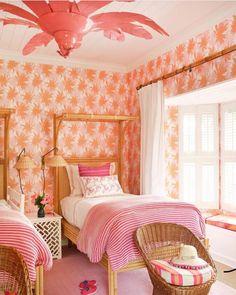 Living the Well Appointed Life with Melissa Hawks Girl Room, Girls Bedroom, Bedroom Decor, Bedroom Ideas, Wicker Bedroom, Childrens Bedroom, Kid Bedrooms, Casa Mimosa, Caribbean Homes