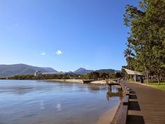 It's a gorgeous walk along the Cairns Esplanade...did we mention we're just across the street from this view?      www.pacifichotelcairns.com #cairns #thisismyparadise #exploretnq