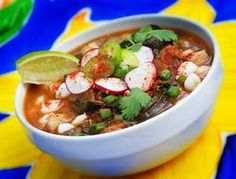 Lean Green Pozole - This sounds do delicious and EASY!!