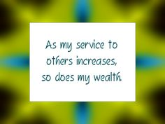 Daily Affirmation for April 22, 2014