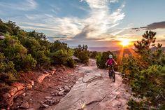 San Juan Mountain Bike Hut to Hut trips.  They also offer Fat Bike trips in the winter!