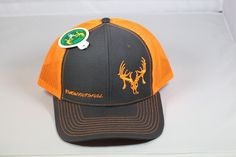 "Texas Trophy Hunter Association® Orange TTHA ""Show your Skull"" hat"