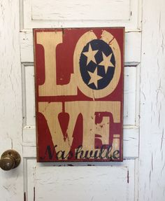 Nashville Tennessee Typography Art Print On by SouthernPressWorks