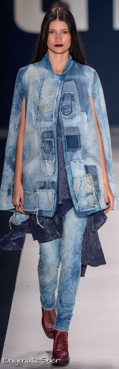 I would make a denim cape (jacket) for a folk festival except they're all in summer months in my part of the world- too hot for jackets.