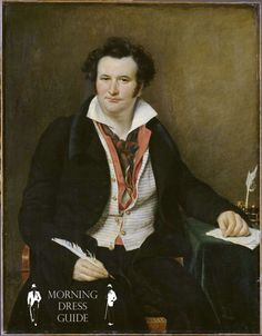 Bernard Wolf with Double Vest in 1823 by Sophie Rude