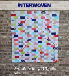 Interwoven Quilt « Moda Bake Shop