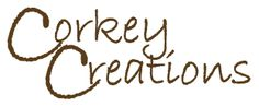 Corkey Creations ; personalized corks