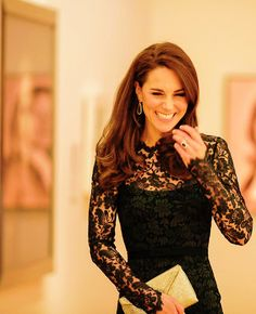 Kate Middleton | National Portrait Gallery on March 28, 2017 in London, England.