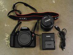 Canon EOS Rebel T6 Digital Camera Body  EFS 18-55mm Lens  Excellent