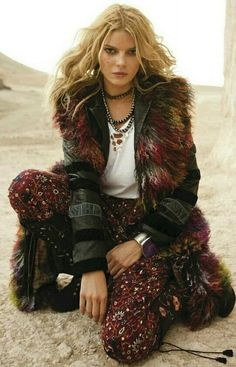 gipsy queen  cristina tosio by riccardo tinelli for elle spain november 2012 d60713b621a