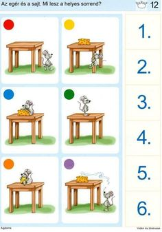 Educational Games For Kids, Toddler Learning Activities, Baby Learning, Learning Games, Fun Worksheets For Kids, Printable Preschool Worksheets, Puzzles For Kids, Preschool Activity Books, Visual Perception Activities