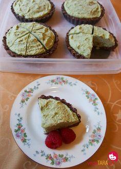 Vegan mint cream pies - vegeTARAian
