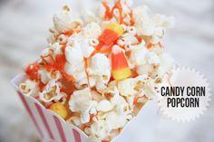 Candy Corn Popcorn | Candy Corn Popcorn
