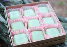 Lemongrass Lime Sugar Cube Scrub Gift Set Homemade Artisan Exfoliating Scrub…