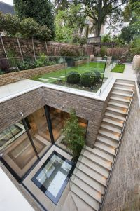landscape architecture design Five bedroom terraced new house in South End, London - off High Street Kensington - listed on Zoopla for Architecture Design, Amazing Architecture, Landscape Architecture, Landscape Design, Seattle Architecture, Creative Architecture, Architecture Awards, Modern Architecture House, Nachhaltiges Design