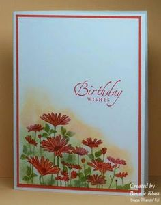 Stamping with Klass: Hot Colors