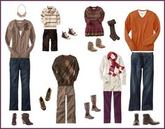 what to wear for your fall family portraits