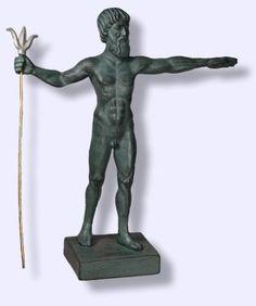 Representing Greek God Poseidon
