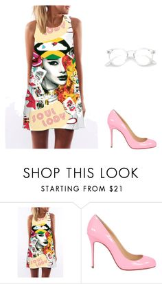 """""""Untitled #4842"""" by carlafashion-246 ❤ liked on Polyvore featuring Christian Louboutin"""