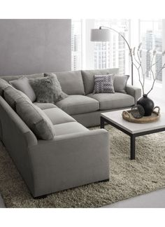 46 Amazing Grey Living Room Decor Ideas To Inspire You Today - Next generation living room needs next generation designs. That is why the use of modern living room designs is apt for the contemporary style of hous. Living Room Grey, Home And Living, Living Room Furniture, Living Room Decor, Modern Living, Small Living, Minimalist Living, Wooden Furniture, Antique Furniture