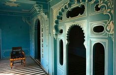 one of my favourite indian interiors - Palace in Udaipur.