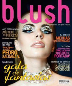 Anna Shimova en revista Blush