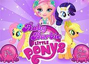 Baby Barbie Little Pony 2