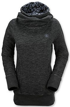 Volcom Tower Pull Over - Women's Ski and Snowboard Hoodie - Winter 2015/2016 - Christy Sports