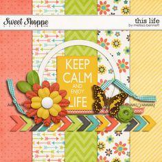 Quality DigiScrap Freebies: This Life mini kit freebie from Melissa Bennett
