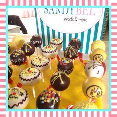 BVB Birthday Mix #cakepops by #sandybel #bvb #nürnberg #fürth