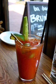 Brunch will never been the same with these Sriracha Bloody Marys.