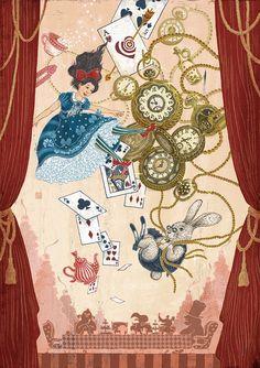 ALICE'S ADVENTURES IN WONDERLAND BY YOHEY HORISHITA