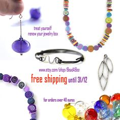 Free Shipping until the end of December. For orders over 40 euros.
