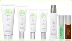 Zija's GenM skin care line - Inner Health, Outer Beauty.
