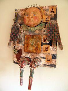 Folk art angel :)